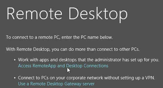 Cach su dung Remote Desktop tren Windows 8