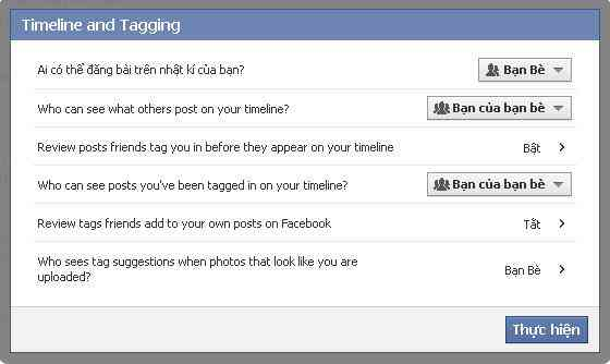 Cach chan Tag tu cac Page tren Facebook